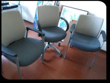 Rotelle Per Sedia Da Ufficio.Sedie Da Ufficio Rivarolo 21